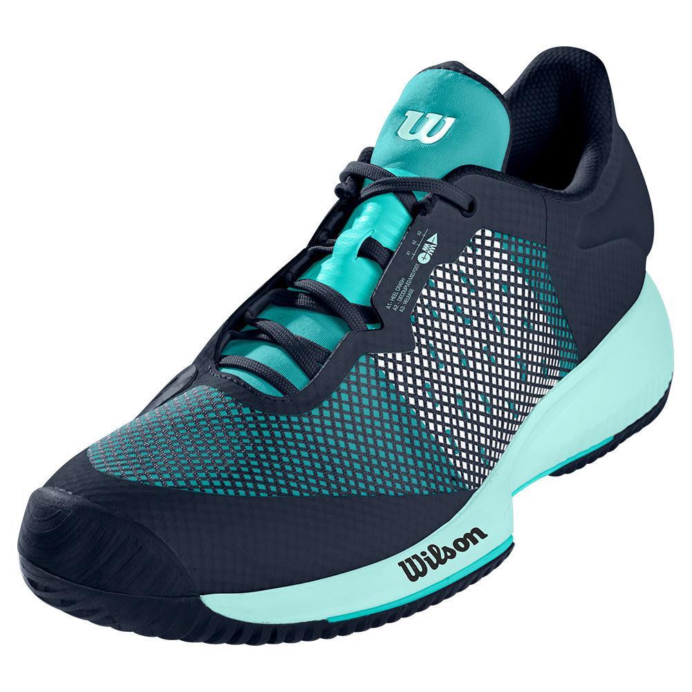 Women's Kaos Swift Tennis Shoes Outer Space And Aruba Blue