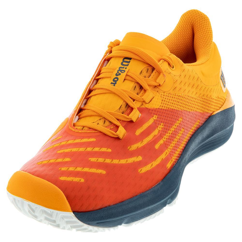 Juniors ` Kaos 3.0 Tennis Shoes Autumn Glory And Majolica Blue