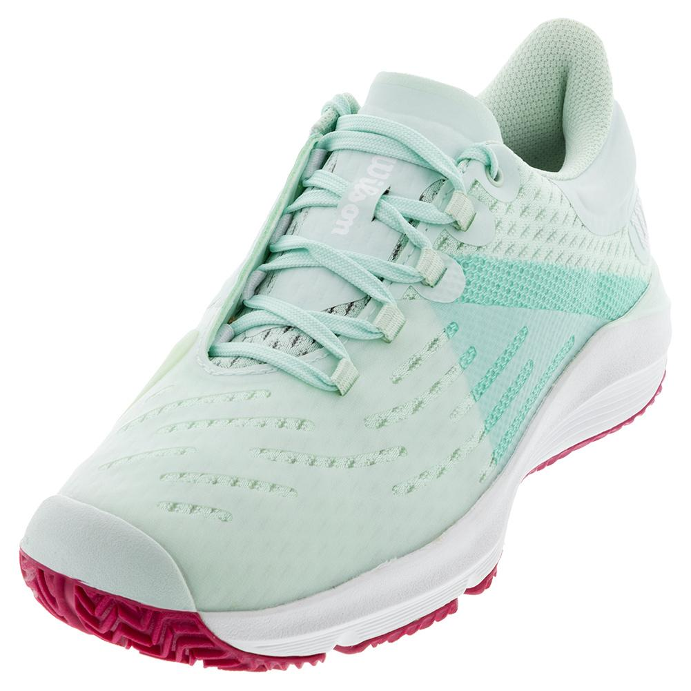 Juniors ` Kaos 3.0 Tennis Shoes Soothing Sea And White