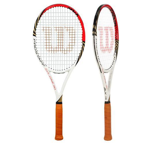 With this racket Roger won six ATP Titles and one Wimbledon: ABN AMRO World Tennis Tournament, Rotterdam Dubai Duty Free Tennis Championships