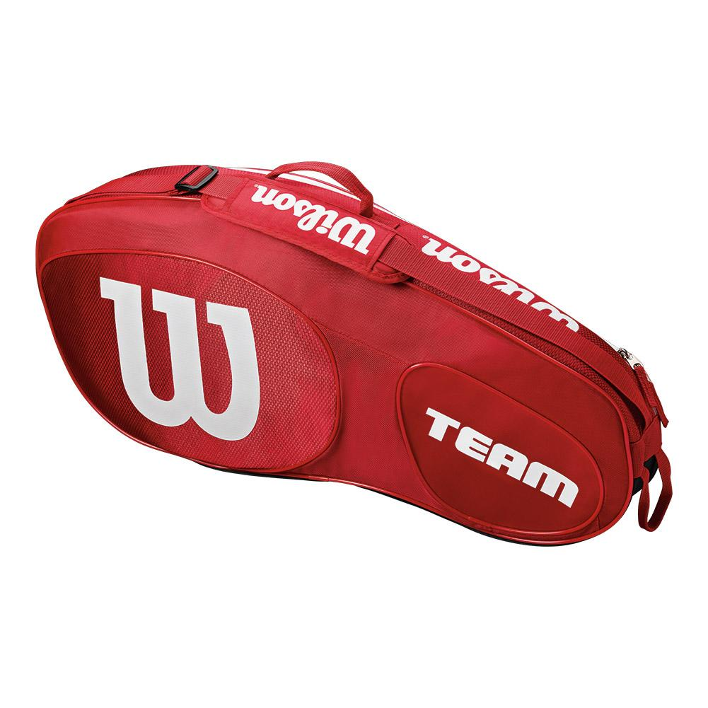 30efc21a9d Wilson Team III 3 Pack Red and White Tennis Bag