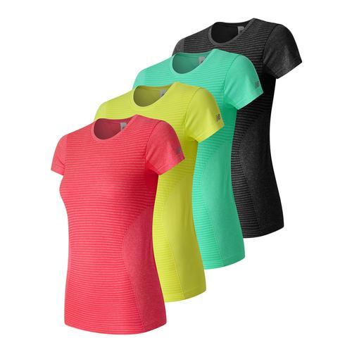 Women's M4m Seamless Short Sleeve Tennis Top