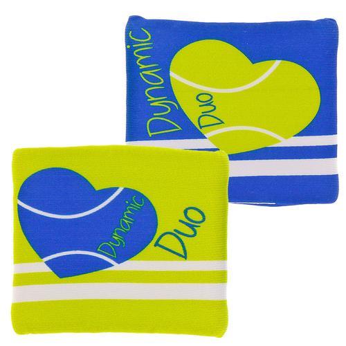Dynamic/Duo Tennis Wristband Set