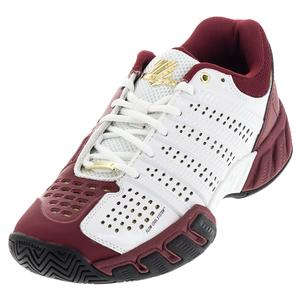 K-SWISS MENS BIGSHOT LT 2.5 50 TNS SHOES WH/RD