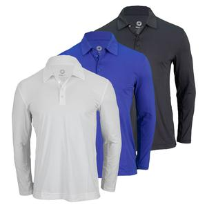 BLOQUV MENS LONG SLEEVE TENNIS POLO