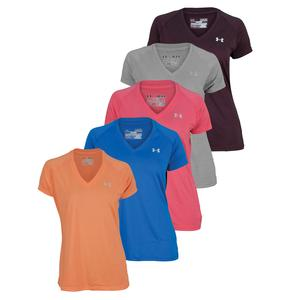 UNDER ARMOUR WOMENS UA TECH SHORT SLEEVE TEE