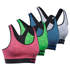 UNDER ARMOUR WOMENS MID SPACE DYE BRA
