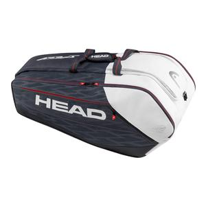 HEAD DJOKOVIC MONSTERCOMBI TENNIS BAG NAVY/BK