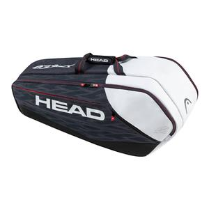 HEAD DJOKOVIC SUPERCOMBI TENNIS BAG NAVY/BLK