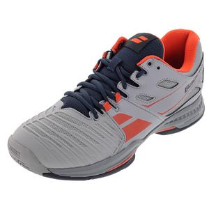 BABOLAT MENS SFX 2 ALL COURT TNS SHOES GRAY/RD