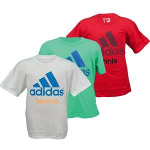 adidas BOYS GRAPHIC TENNIS TEE