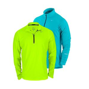 NIKE MENS ELEMENT HALF ZIP RUNNING TOP