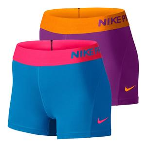 NIKE WOMENS PRO COOL 3 INCH SHORT