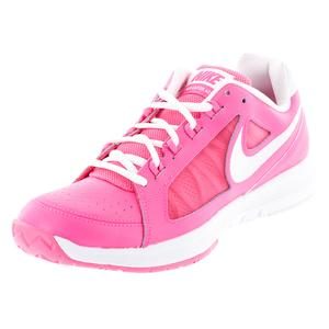 NIKE WOMENS AIR VAPOR ACE TNS SHOES HYP PK/WH