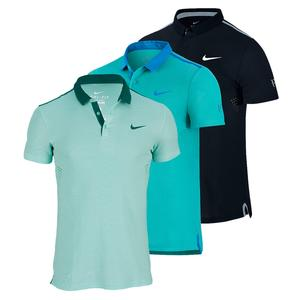 NIKE MENS ADVANTAGE PREMIER TENNIS POLO