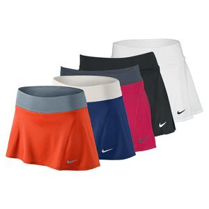 NIKE WOMENS FLOUNCY KNIT TENNIS SKIRT