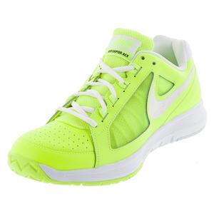 NIKE WOMENS AIR VAPOR ACE TNS SHOES VOLT/WH