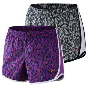 NIKE GIRLS TEMPO ALLOVER PRINT SHORT