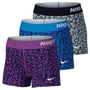 NIKE WOMENS PRO COOL FACET 3 INCH SHORT