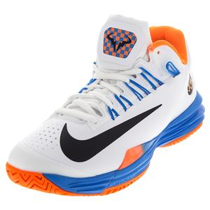 NIKE MENS LUNAR BALLISTEC 1.5 TNS SHOES WH/OR