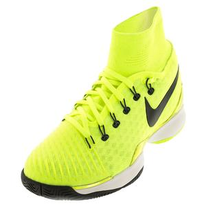 NIKE MENS AIR ZOOM ULTRAFLY TNS SHOES VOLT/WH