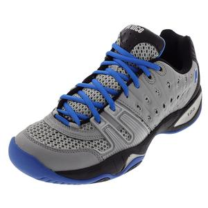 PRINCE MENS T22 TENNIS SHOES GRAY/BLACK