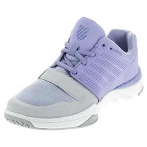K-SWISS WOMENS X COURT ATHL TNS SHOES DP PERI/GY