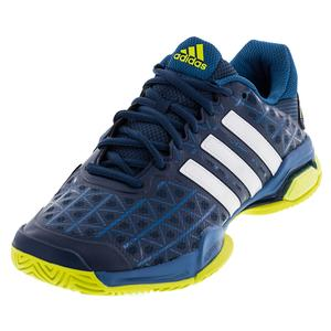 adidas MENS BARRICADE CLUB TNS SHOES TCH ST/WH