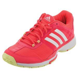 adidas WOMENS BARR CLUB TNS SHOES FLSH RD/WH