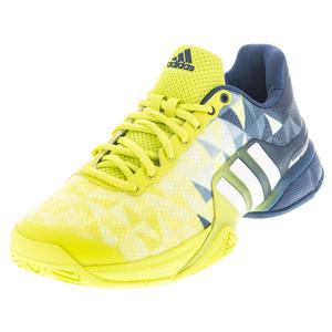 adidas MENS BARRICADE 2016 TNS SHOES SLM/WH