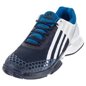 adidas MENS ADIZERO UBER CLY TNS SHOES NAVY/WH