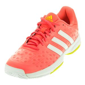 adidas JUNIORS BARR CLUB TNS SHOES CFT PK/WH