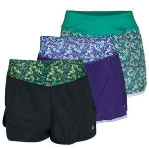 SOLFIRE WOMENS KALEIDOSCOPE PEAK TENNIS SHORT