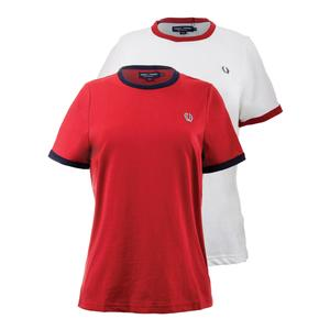 FRED PERRY WOMENS RINGER TENNIS TEE