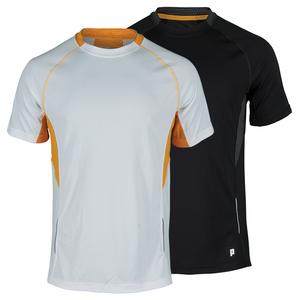 PRINCE MENS SHORT SLEEVE TENNIS CREW