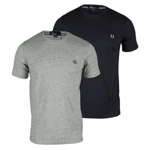 FRED PERRY MENS CREW NECK TENNIS TEE
