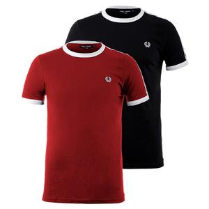 FRED PERRY MENS TAPED RINGER TENNIS TEE