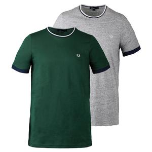 FRED PERRY MENS TIPPED RINGER TENNIS TEE