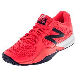 NEW BALANCE MENS 996V2 D WIDTH TNS SHOES CHRY/BLK