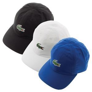 LACOSTE MENS POLYESTER GREEN CROC TENNIS CAP