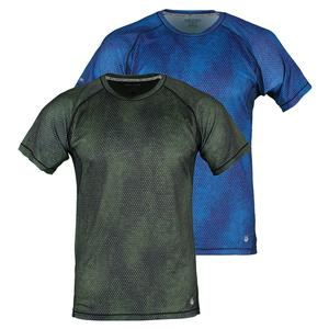 SOLFIRE MENS FULL SPEED HEX CAMO TENNIS TOP