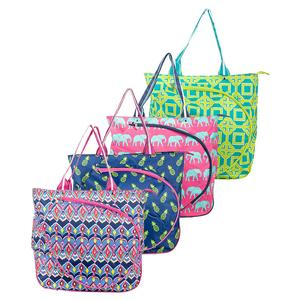 ALL FOR COLOR WOMENS TENNIS TOTE BAG
