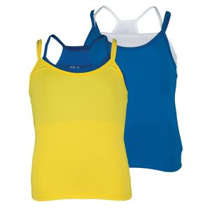 FILA GIRLS SPIRIT DOUBLE LAYER TENNIS TANK