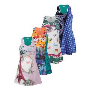 FILA WOMENS MB COURT CENTRAL TENNIS DRESS