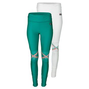 FILA WOMENS MB COURT CENTRAL TENNIS TIGHT