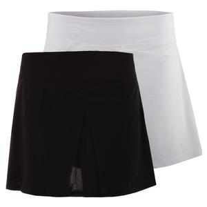FILA WOMENS PLATINUM LASER CUT TENNIS SKORT
