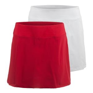 FILA WOMENS HERITAGE PLEATED TENNIS SKORT