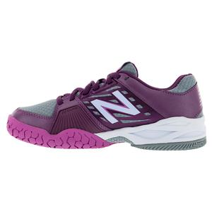 NEW BALANCE WOMENS 896V1 B WTH TNS SHOES IMPER/DP PU