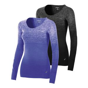 ASICS WOMENS SEAMLESS LONG SLEEVE TOP