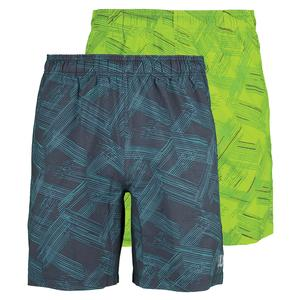 WILSON MENS PERSP STRETCH WOVEN 8 IN TNS SHORT
